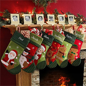 Personalized christmas stockings stockings and christmas stockings on