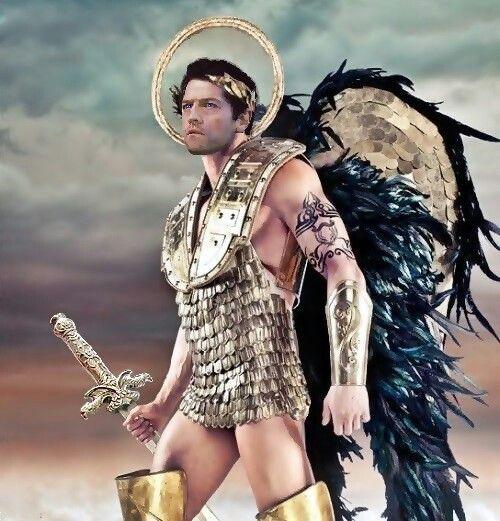 Castiel | Mens costumes, Male angels, Angel costume