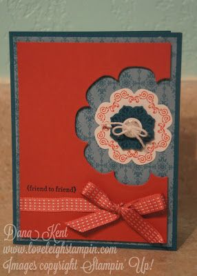 Stampin' Up! Daydream Medallions Card