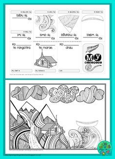 FREE Mihi/Pepeha template ~1-cut-mini book {Green Grubs Garden Club Blog}