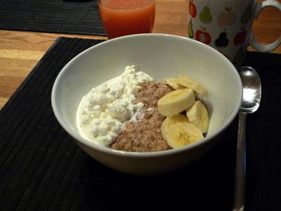 Great tasting healthy toppings for your porridge.