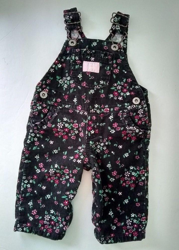 6 Months OshKosh Bgosh Baby Girls Floral Bubble Shorts