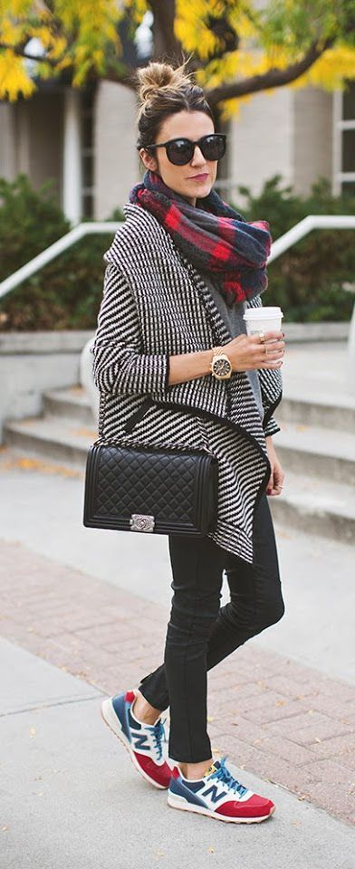 Comfy fall layers + sneaks