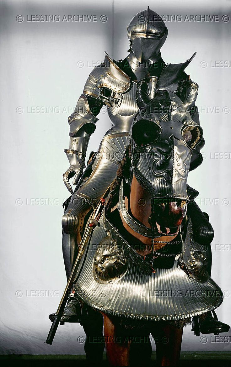 RENAISSANCE 16TH Cuirass and horse armour (ca. 1526) which belonged to Ferdinand I, the grandson of Empreror Maximilian. from Augsburg, Germany Kunsthistorisches Museum, Ruestkammer, Vienna, Austria