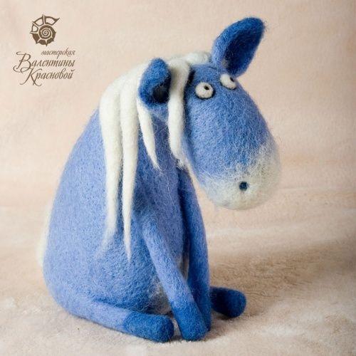 little blue donkey