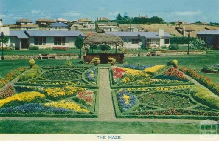 The Maze, Fletcher Jones, Pleasant Hill, Warrnambool