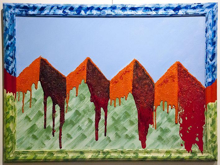 Empates - $ 1650.- Óleo 53 x 78 cm Nestor Gabriel Cozzi