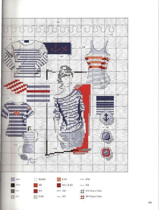 les marinières (grille) -  La-boite-a-malice-de-dominique.over-blog.com