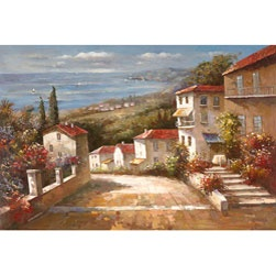@Overstock - Artist: Joval  Title: Home in Tuscany  Product Type: Canvas Arthttp://www.overstock.com/Home-Garden/Joval-Home-In-Tuscany-Canvas-Art/2767766/product.html?CID=214117 $138.99