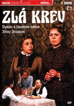 Televizní seriál z Edice České televize Zlá krev na DVD.