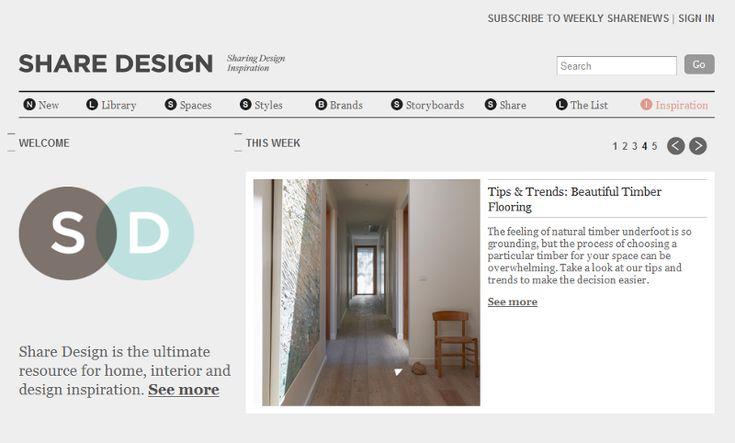 Share Design | Desire to Inspire - desiretoinspire.net - Saturdayshare