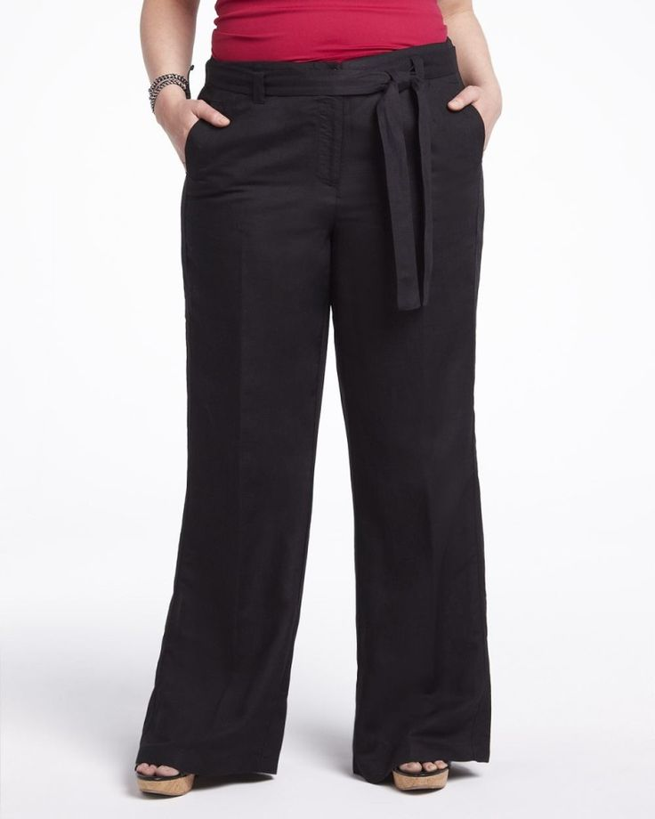 additionelle Linen Pants