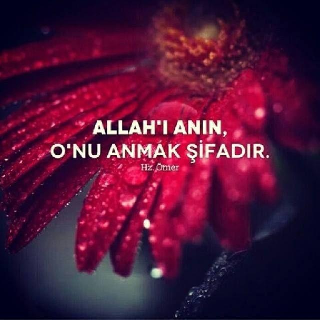 Allah'ı anın..