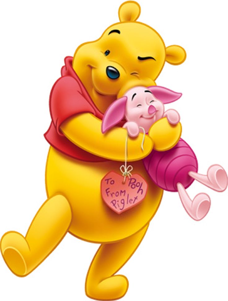 It is a picture of Geeky Images of Pooh Bear