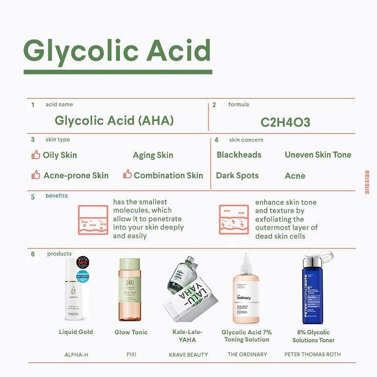 Alles über Glycolic Acid 💓 – Make Up, Make Up… & more make up