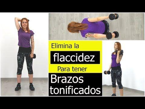 Ejercicios para la flacidez de los brazos en casa. - YouTube