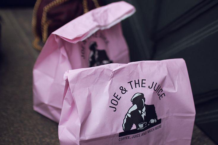 Joe & the juice packaging. Pink, i love.