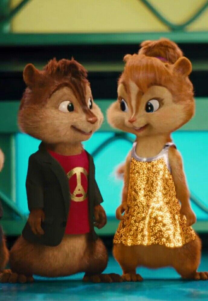 Alvin And Brittany Com Imagens Alvin E Os Esquilos Esquilo