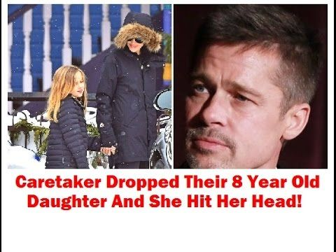 Brad Pitt's daughter dropped and hit her head while Angie was thousands ...