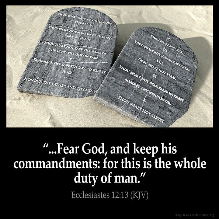 Ecclesiastes 12:13  Fear God and keep his commandments: for this is the whole duty of man.  Ecclesiastes 12:13 (KJV)  from King James Version Bible (KJV Bible) http://ift.tt/1OUFXxx  Filed under: Bible Verse Pic Tagged: Bible Bible Verse Bible Verse Image Bible Verse Pic Bible Verse Picture Daily Bible Verse Ecclesiastes 12:13 Image King James Bible King James Version KJV KJV Bible KJV Bible Verse Pic Picture Verse         #KingJamesVersion #KingJamesBible #KJVBible #KJV #Bible #BibleVerse…