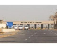 Residential Plot for sale in DHA City Sector 4 B Karachi.