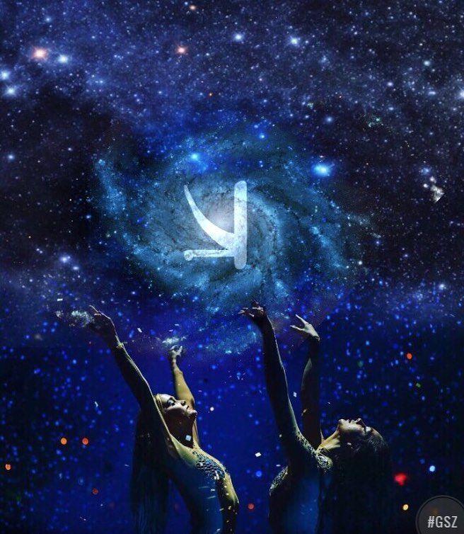 Our universe #kshmr  #kshmrlogo  #logo  #gsz  #gracethekshmrfan  #universe