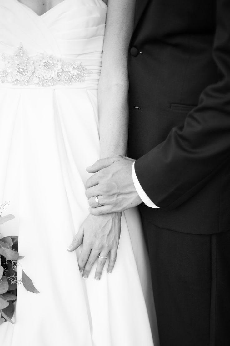 Bride And Groom With Wedding Bands Beautiful Exchange Photography Tulsa, OK  Wedding Tulsa Garden Center