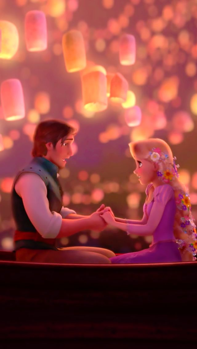 15) Most romantic moment - the floating lanterns from Tangled #disney #30daydisneychallenge