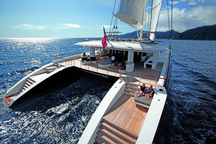 Segelkatamaran  Hemisphere (Bruce Thomas, Superyacht Media) | Sailing & Nautical ...