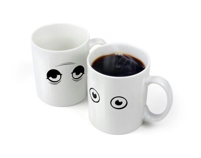 Magic Mug Wake Up - Matanya bisa terbuka setelah terkena air panas:) Harga hanya Rp 86.000 saja, Stock sangat terbatas! :)  Buy Now!