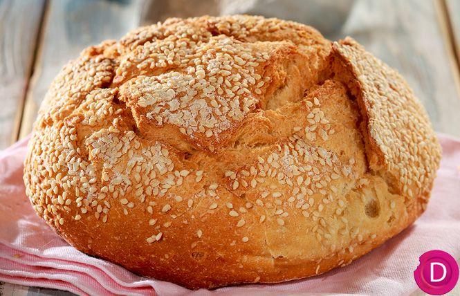 Ψωμί χωριάτικο, πολύ μυρωδάτο | Dina Nikolaou