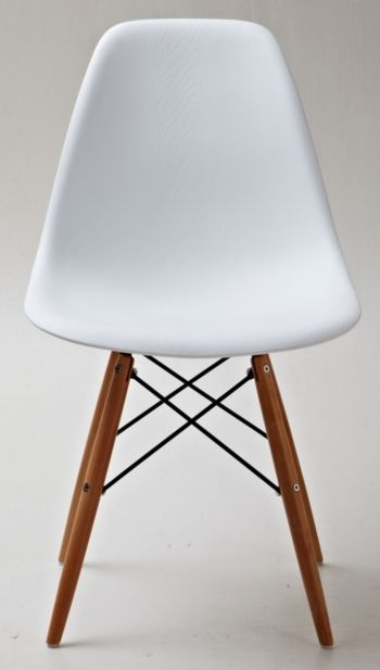 Best Lucas Wood Grain Accent Chairs Set Of 2 White Accent 400 x 300
