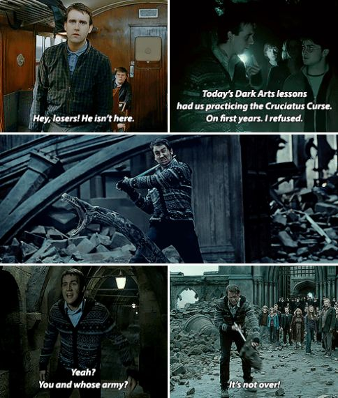 Where dwell the brave at heart …Neville Longbottom