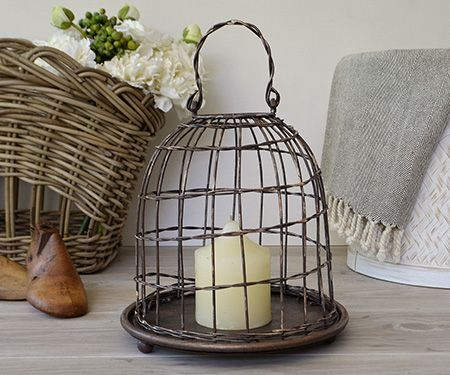Bronze Table Cage
