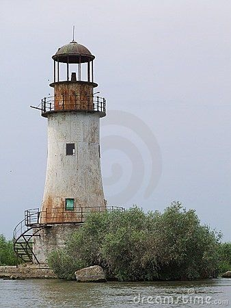 Old Lighthouse / Romania Royalty Free Stock Image - Image: 5894026
