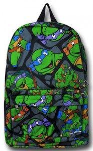 Collage Teenage Mutant Ninja Turtle Backpack