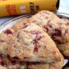 Fiction-Food Café: Sour Cherry Scones | Carry On