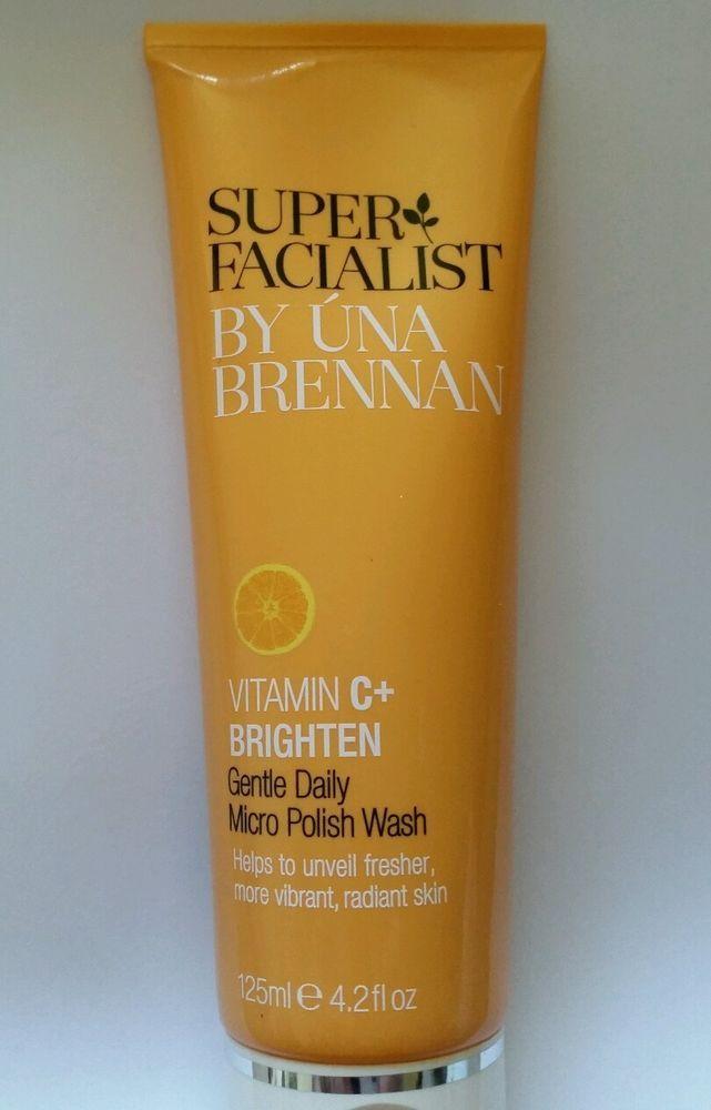 Una Brennan #Superfacialist Vitamin C+ Gentle Daily Micro Polish Wash #health #beauty #UnaBrennan