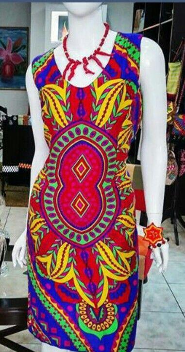Colorful paruma dress from El closet de Yussy