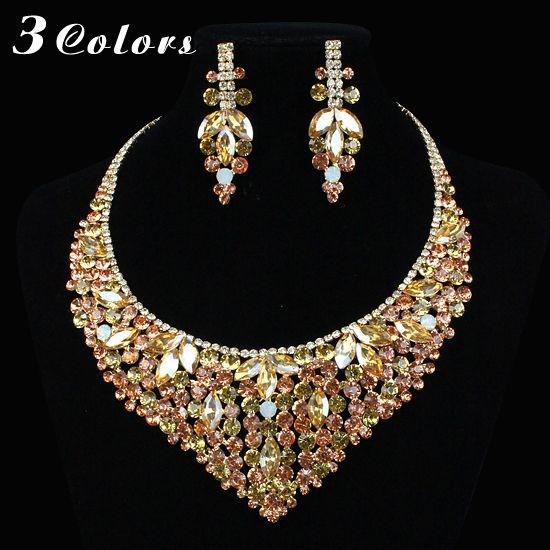 Online Buy Wholesale crystal rhinestone jewelry set from China crystal rhinestone jewelry set Wholesalers |Aliexpress.com -Page {3}