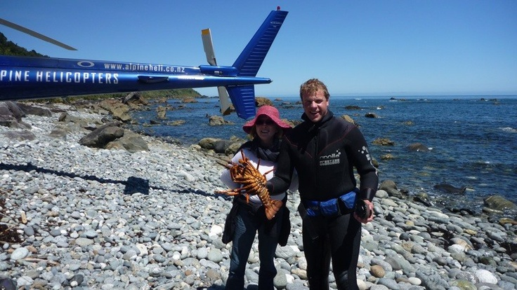 Fiordland diving and heli fishing New Zealand.