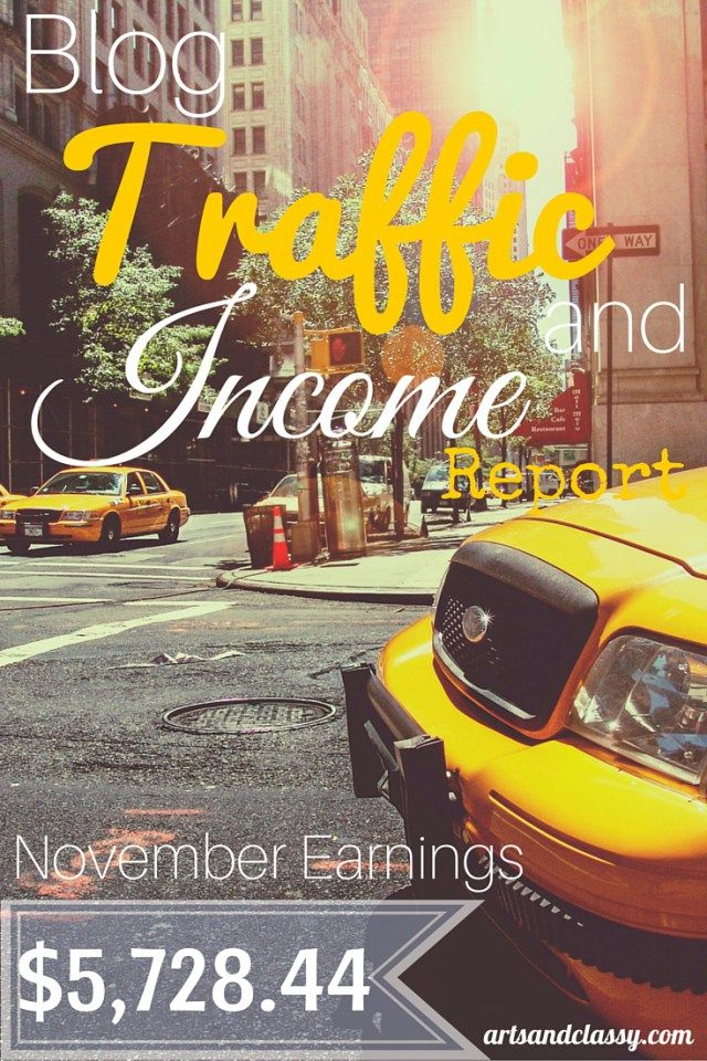 Blog Traffic and Income Report : How I made $5,728.44 in November