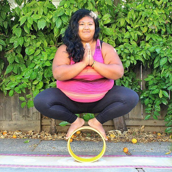 """This Body-Positive Yogi Will Banish Your Perceptions About the Typical """"Yoga Body"""": You've probably heard the term """"yoga body"""" carelessly thrown around within the fitness community."""