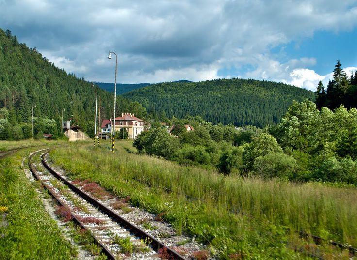 Železničná stanica Červená Skala -  Slovakia