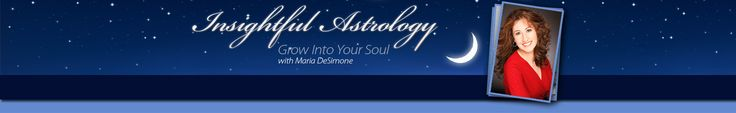 Free Astrology Charts From Insightful Astrology with Maria DeSimone