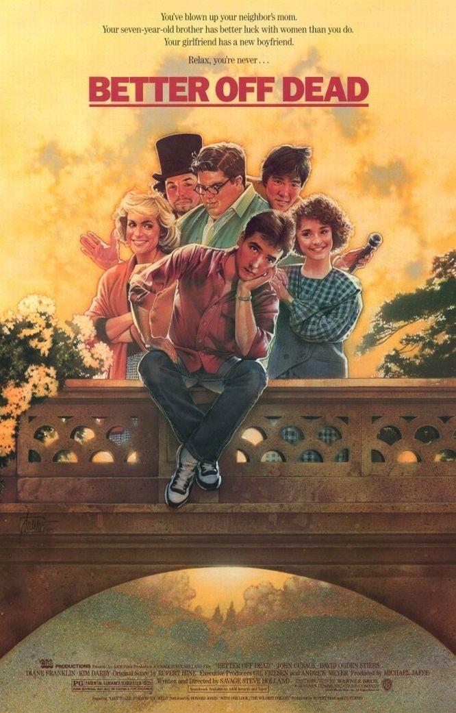 Better Off Dead, my favorite 80's movie