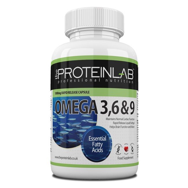 OMEGA 3,6  9 FISH OIL. The Protein Lab