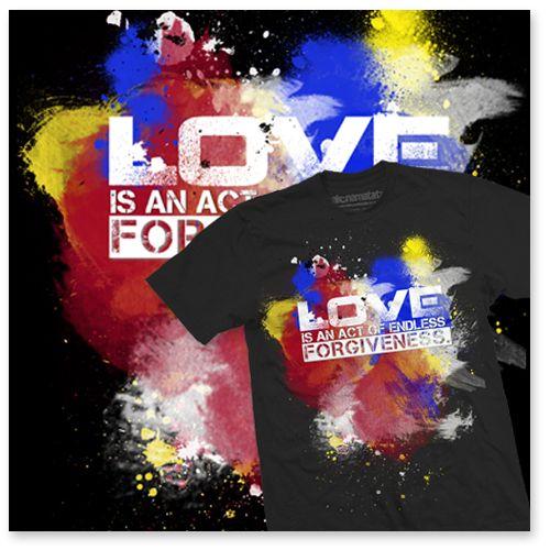 "T-shirt ""Forgiveness"" – HAKUNA MATATA"