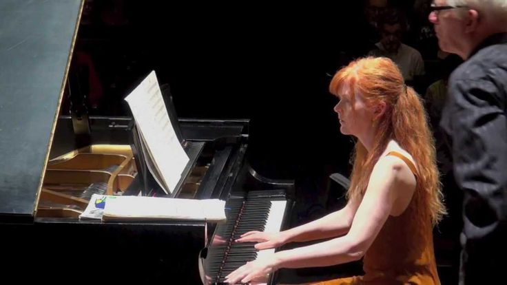 Sarah Cahill (piano) plays Rivers, Series II, No. 2 (1979) (Ann Southam)