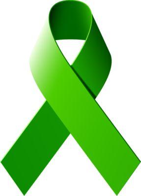 Green Awareness Ribbon for Mental health awareness (Schizotypal Personality Disorder)